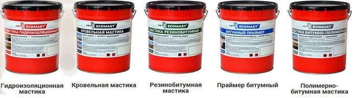 ЕСОMAST 32 Мастика полимерно-битумная, 21,5л.